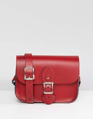 The Leather Satchel Company single buckle mini cross body bag