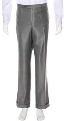 Stefano Ricci Wool & Silk Blend Dress Pants