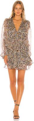 Shona Joy Garner Drawstring Mini Dress