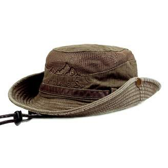 dde323842f7 at Amazon Canada · Charmylo Mens Womens Cotton Wide Brim Sun Hat Summer UV  Protection Embroidery Bucket Hat Foldable Fishing