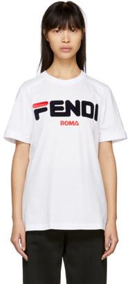 Fendi White Mania T-Shirt