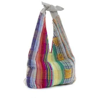 Boo Pala London Summer Hues Woven Tote Bag