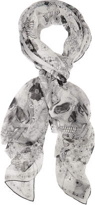 Alexander McQueen Muse Skull Scarf