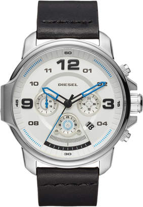 Diesel DZ4432 Silver-Tone & Black Watch