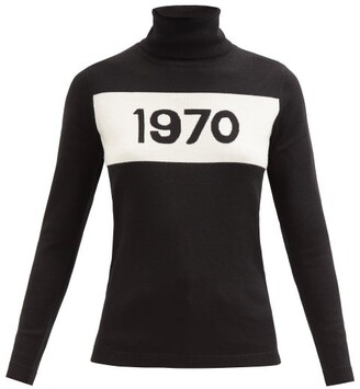 Bella Freud 1970 Wool Roll Neck Sweater - Womens - Black