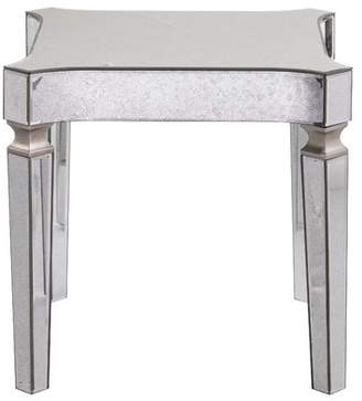 House of Hampton Paulsen Mirrored End Table with Tray