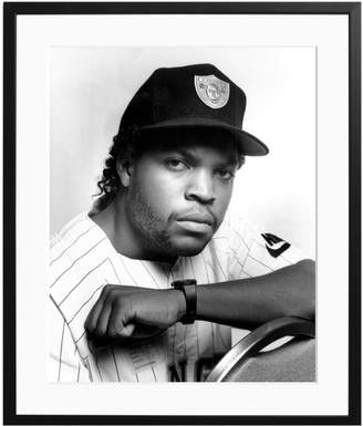 Sonic Editions Ice Cube, 1992 by Waring Abbott (Framed)