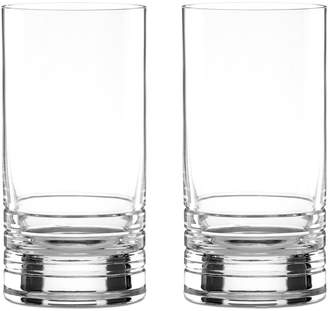 Kate Spade Set of 2 Percival Place Highball Glasses