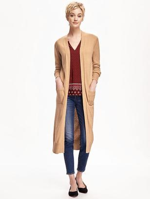 Super Long Open-Front Cardi for Women $42.94 thestylecure.com