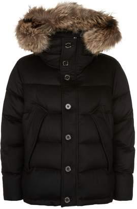 Burberry Cashmere Puffer Coat