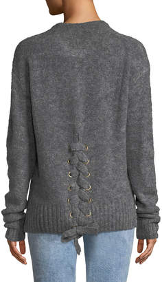 Lovers And Friends Lovely Lines Lace-Up Back Sweater