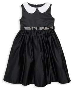 Toddler's & Little Girl's Peter Pan Collar Dress