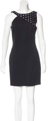 Anthony Vaccarello Embellished Mini Dress