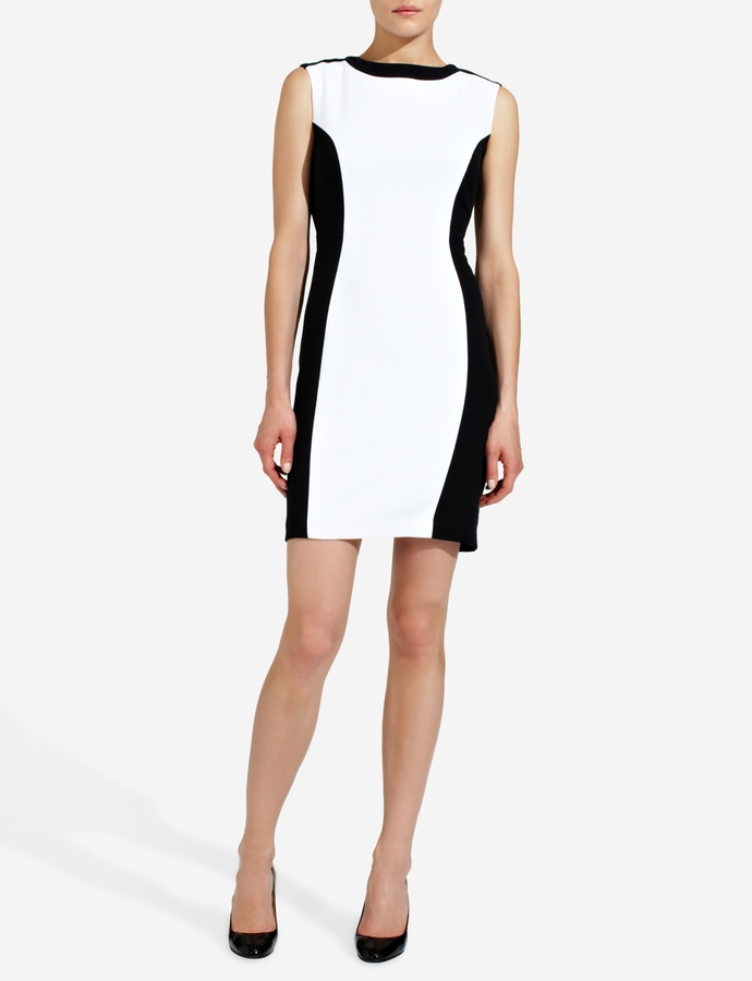 The Limited Colorblock Sheath Dress
