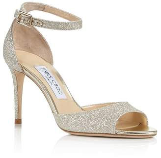 Jimmy Choo Women's Annie 85 High-Heel Ankle Strap Sandals