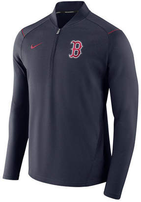 Nike Men's Boston Red Sox Dry Elite Half-Zip Pullover