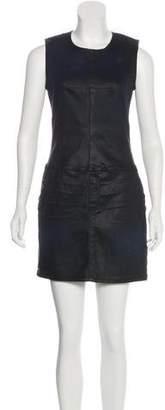 Current/Elliott Denim Sleeveless Shift Dress
