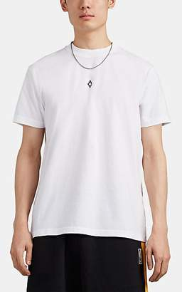 """Marcelo Burlon County of Milan Men's """"Nothing To Declare"""" Wings-Graphic Cotton T-Shirt - White"""