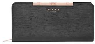 Ted Baker Yasmine Plisse Leather Matinee Wallet