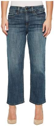 NYDJ Petite Petite Jenna Straight Ankle in Desert Gold Women's Jeans