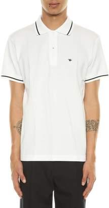 Christian Dior Polo Shirt With Bee