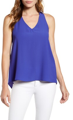 Gibson x Hot Summer Nights Two Peas V-Neck Halter Top