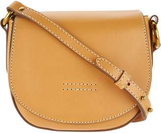 Frye Leather Harness Small Saddle Crossbody Handbag