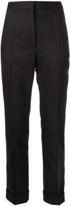 Stella McCartney herringbone striped trousers