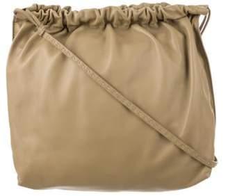 The Row Leather Hobo Bag Brown Leather Hobo Bag