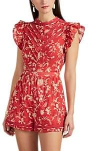 SIR The Label Women's Aurelie Floral Cotton Romper