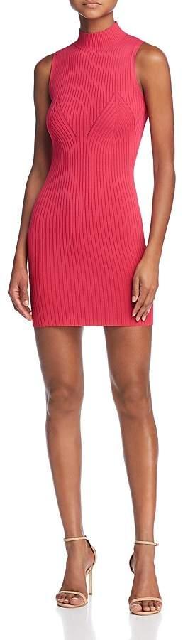 GUESS Kate Body-Con Mini Sweater Dress