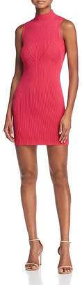 GUESS Kate Body-Con Mini Sweater Dress