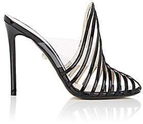 ALEVÌ Milano Women's Alessandra Patent Leather & PVC Mules - Black
