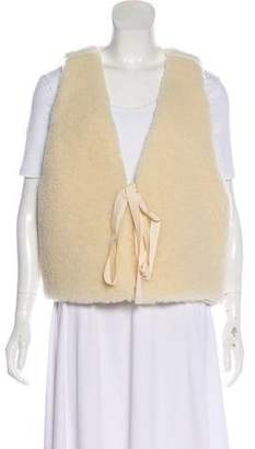 MM6 MAISON MARGIELA Tie-Front Wool Vest w/ Tags