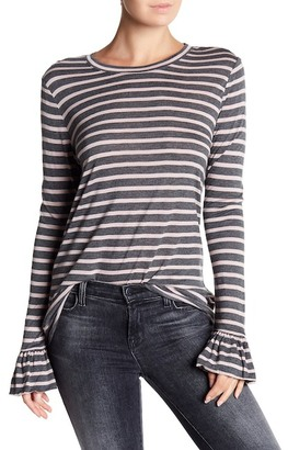 14th & Union Long Sleeve Striped Tee
