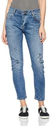 Cross Women's F 450 Slim Slim Jeans (Narrow Leg) - Blue