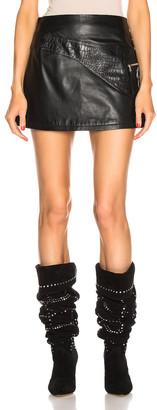 Sandy Liang Fanny Skirt in Black | FWRD
