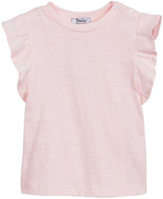 Frenchie Mini Couture Pink Ruffle Sleeve Tee (Baby, Toddler, Little Girls, & Big Girls)