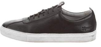Grenson Leather Low-Top Sneakers