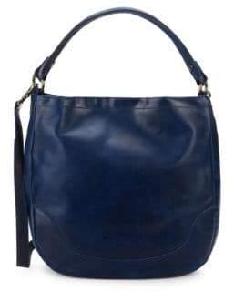 Frye Melissa Leather Hobo Bag