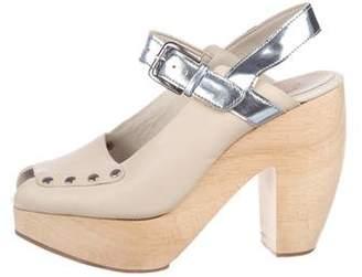 Rachel Comey Studded Leather Strap Sandals