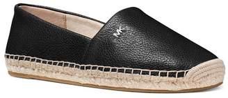 MICHAEL Michael Kors Women's Kendrick Leather Espadrille Flats
