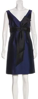 Tory Burch V-neck Mini Dress