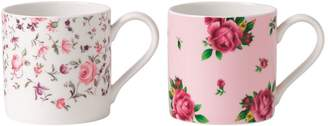 Royal Albert Roses Modern Mug Gift Set
