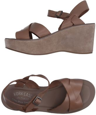 KORK-EASE Sandals $161 thestylecure.com