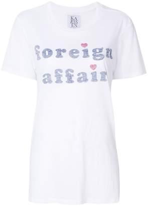 Zoe Karssen Foreign Affair T-shirt