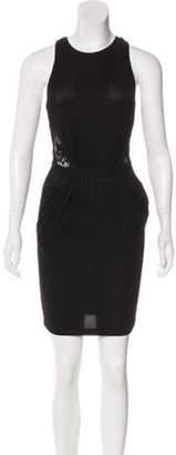 Opening Ceremony Lace Knit Dress Black Lace Knit Dress