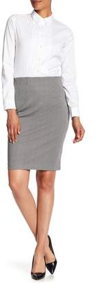 Amanda & Chelsea Stretch Knit Pencil Skirt