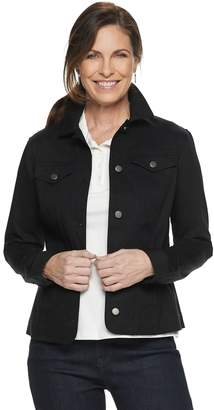 Croft & Barrow Women's Twill Jacket