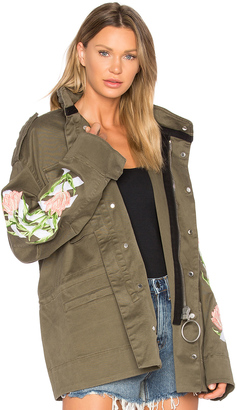 OFF-WHITE Tulips M65 Jacket $1,811 thestylecure.com